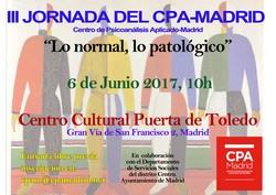 afiche-III jornada del CPA-Madrid-web