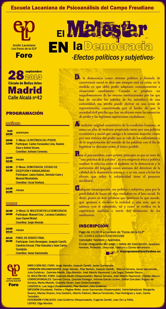foro4-2013 programa