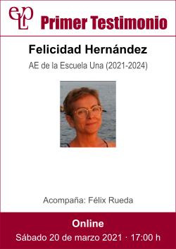 210320 primer testimonio pase - Felicidad Hernandez