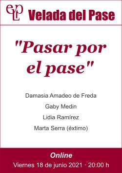 210618 Velada del Pase - afiche web