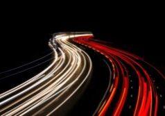 foto autopista noche